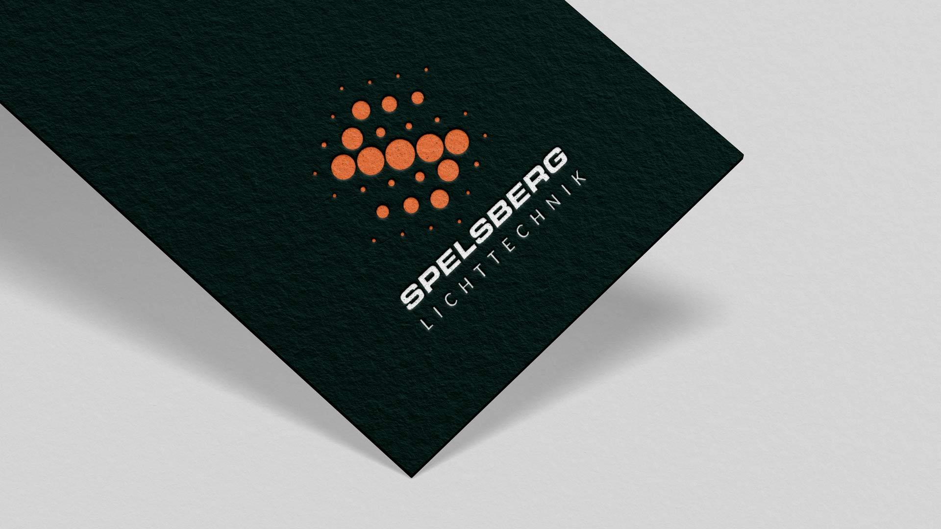 LED-Logo in Neon-Orange von Wurzelwerk