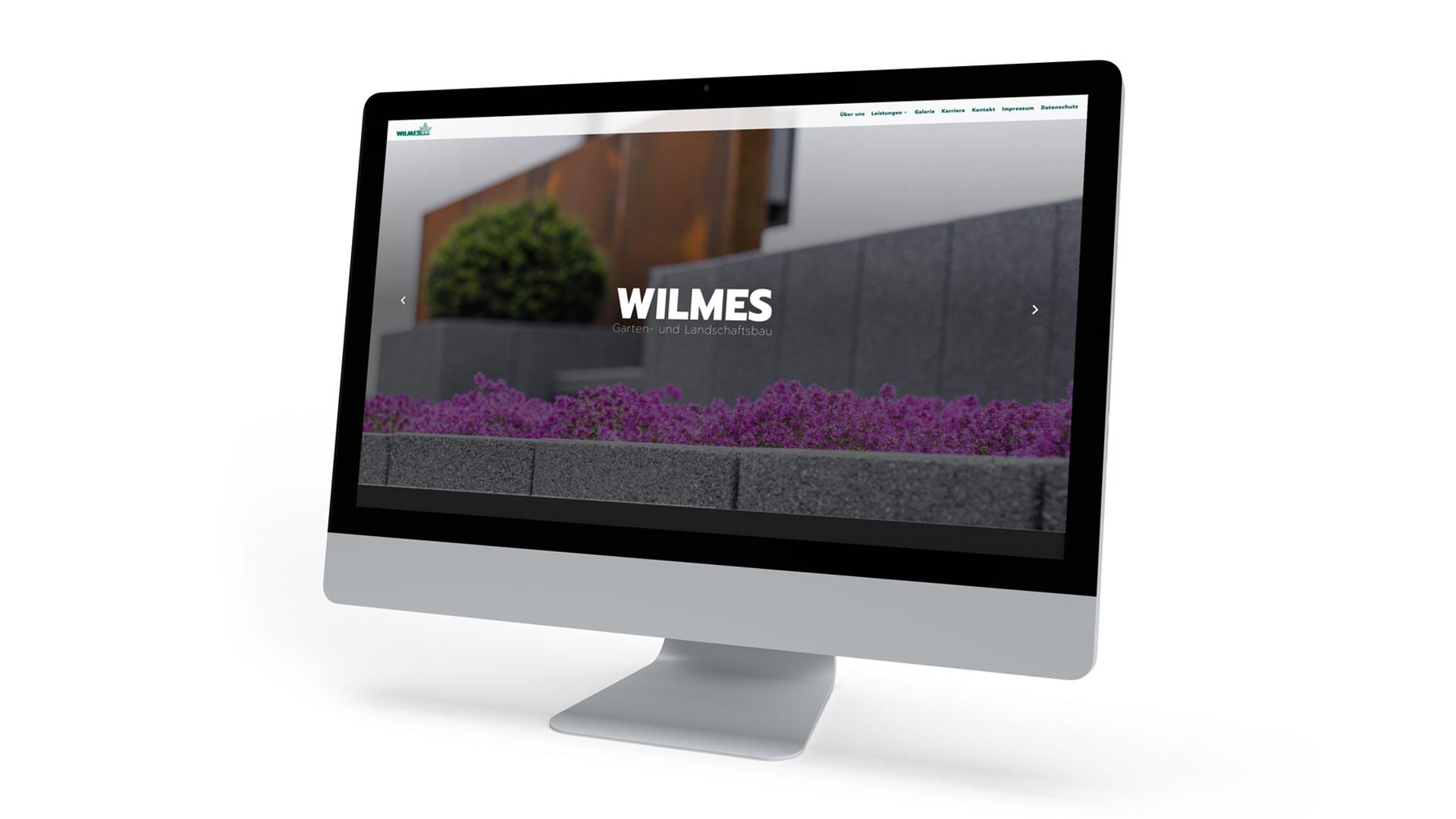 Website für einen Garten- und Landschaftsbau mit atmosphärischen Hero-Slidern von Wurzelwerk
