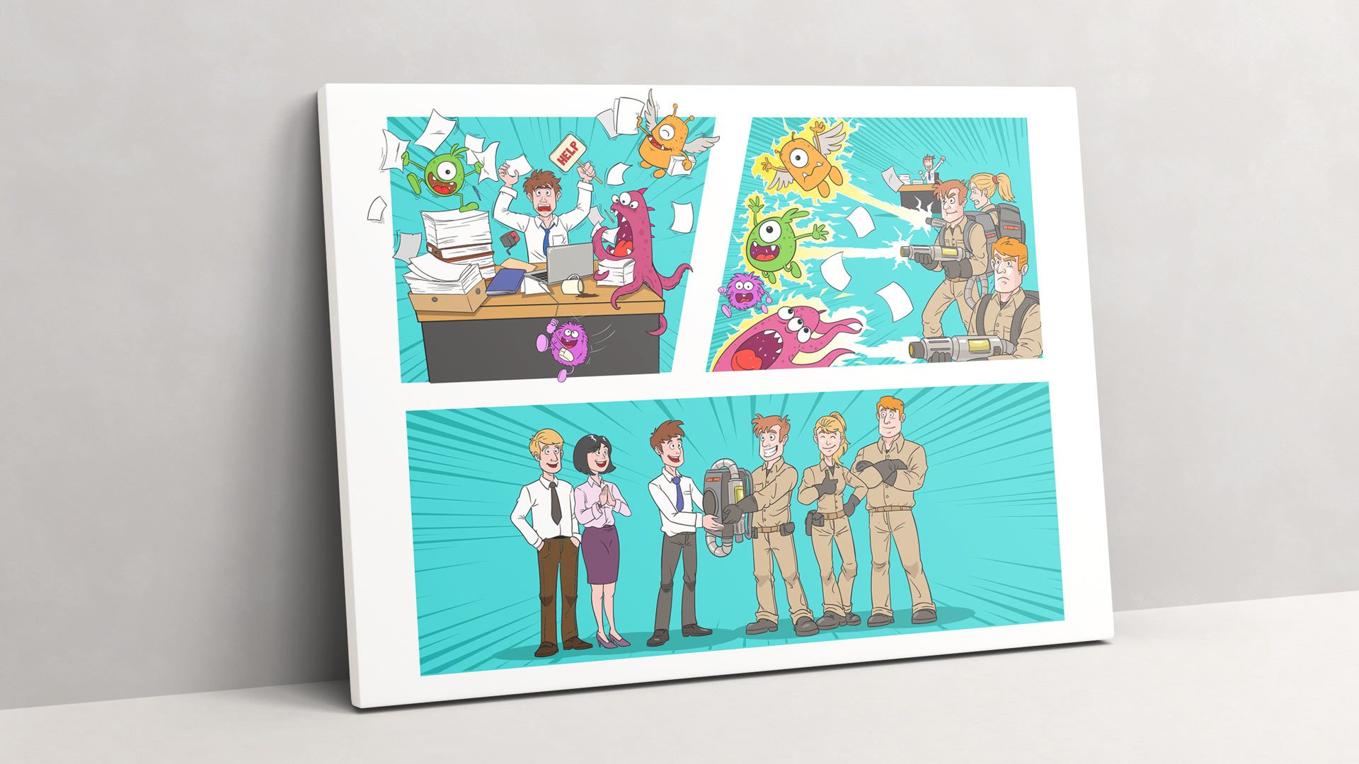 Illustration von Wurzelwerk: Ghostbusters und die Monster der Bürokratie