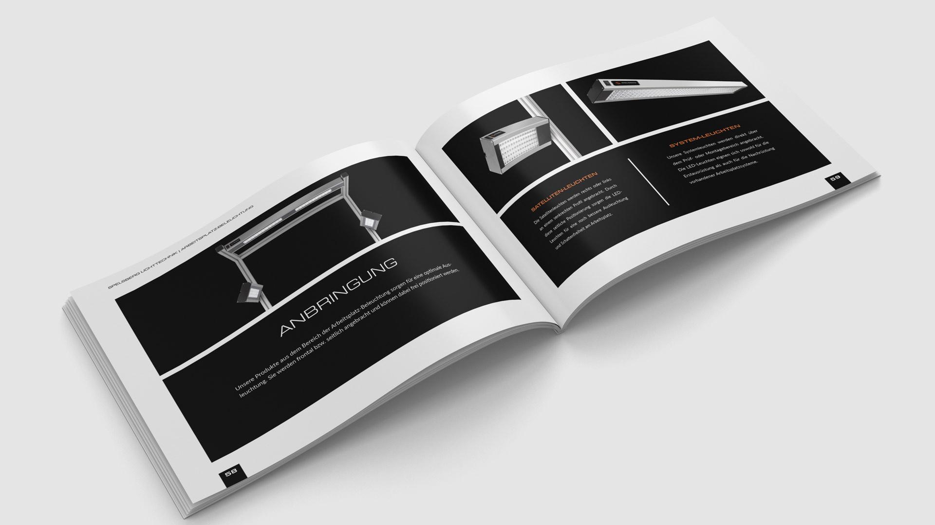 Print-Katalog mit Produkt-Fotografien von Wurzelwerk