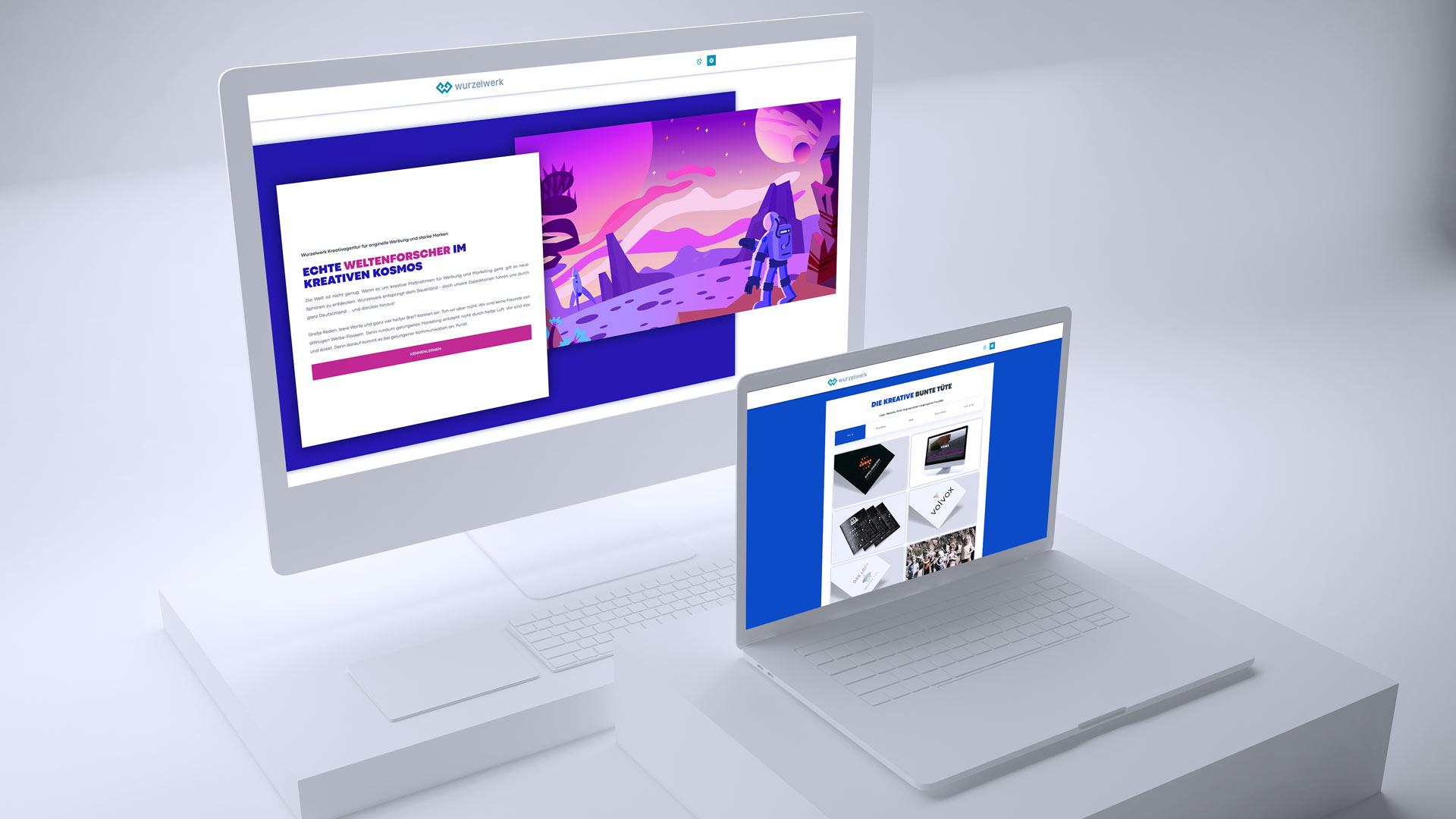 Website-Relaunch der Wurzelwerk Digitalagentur