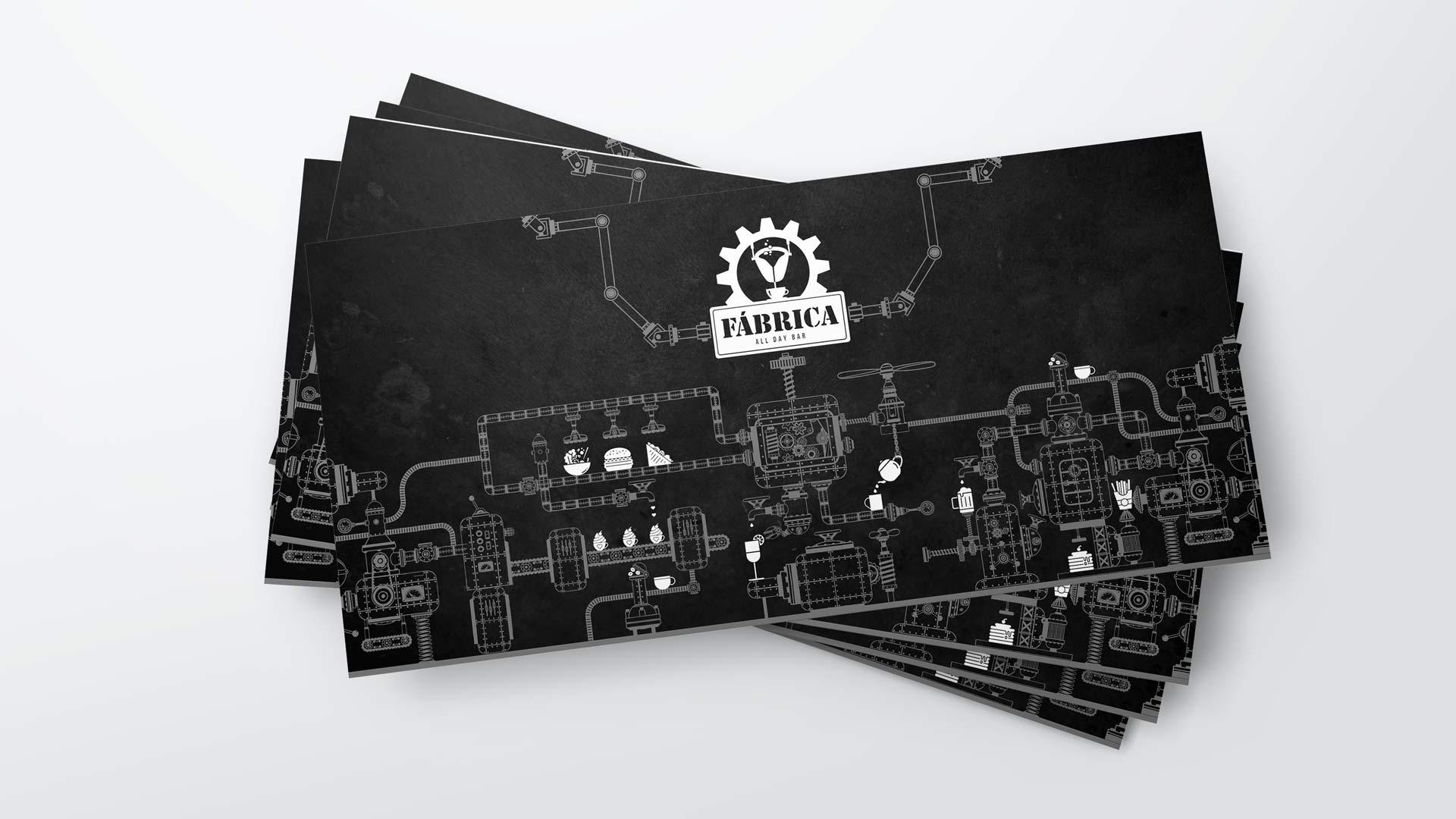 Druckstücke mit industriellen Elementen von Wurzelwerk